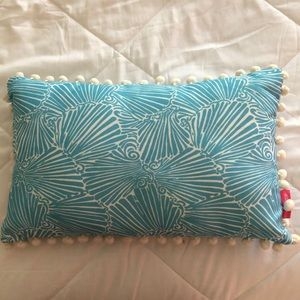 Lilly Pulitzer Mermaid Pillow